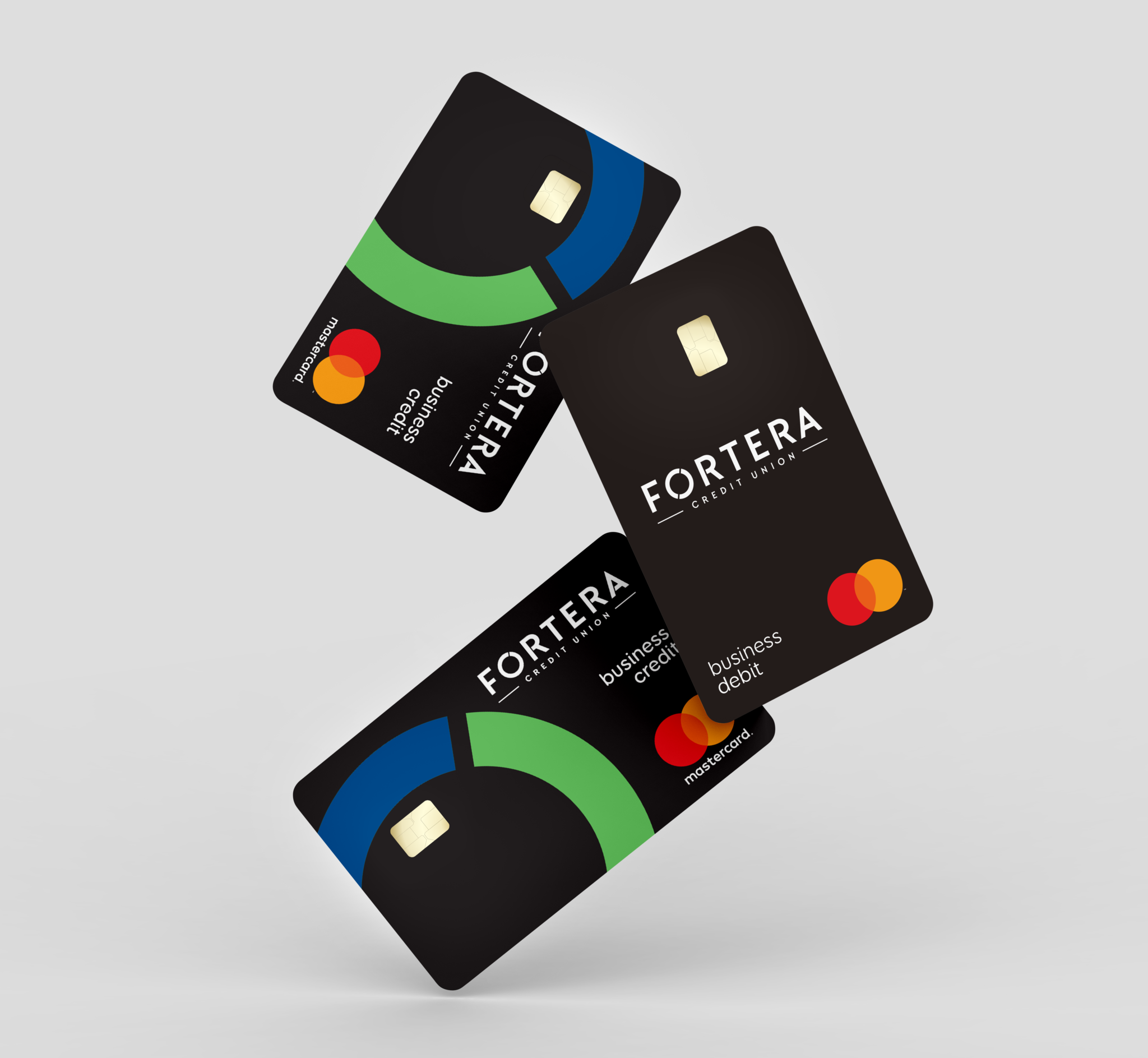 Business Debit and Credit Cards Floating