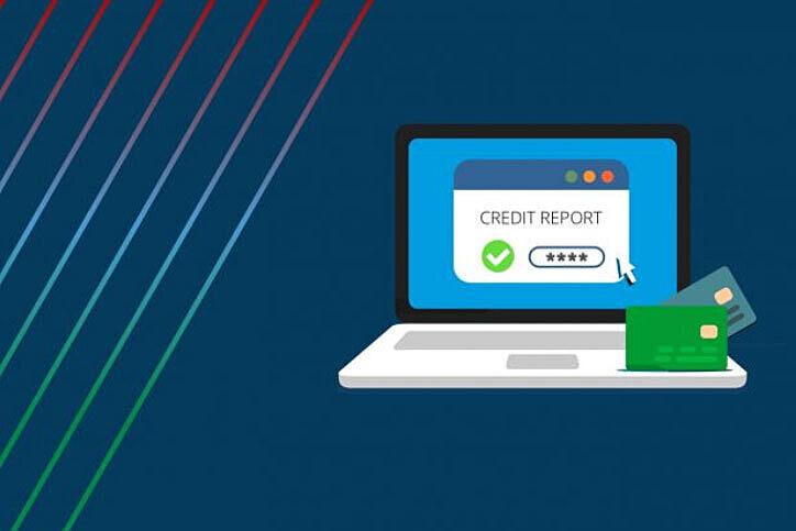 Credit report laptop