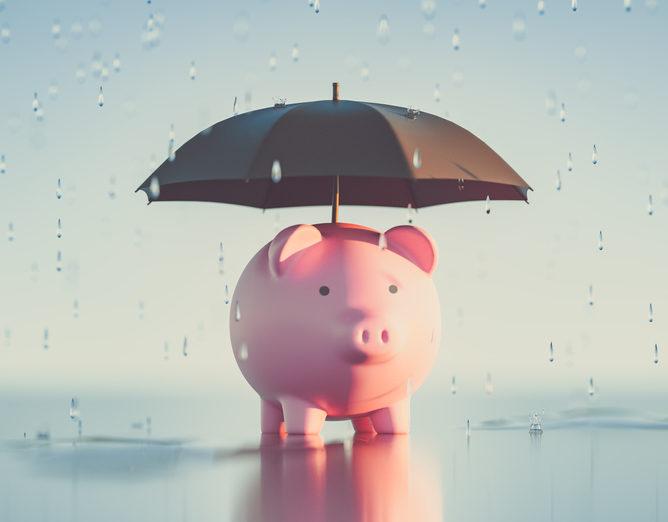 Savings rainy day